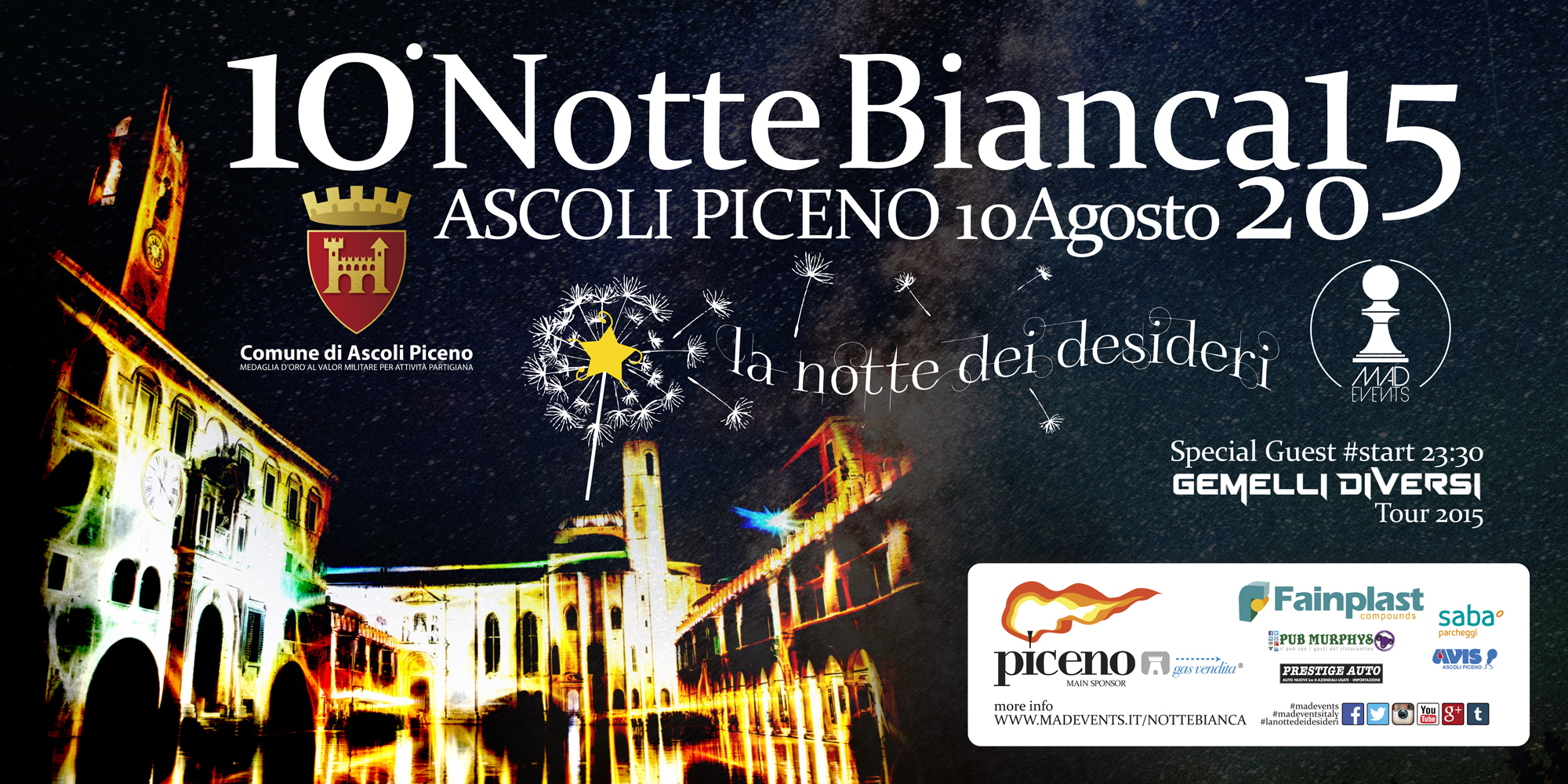 notte bianca mad